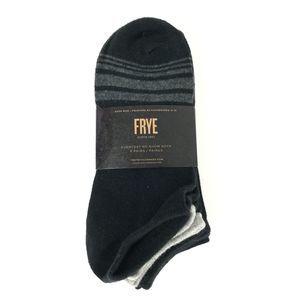 🍎 Frye Soft Cotton No Show Socks - 5 Pack
